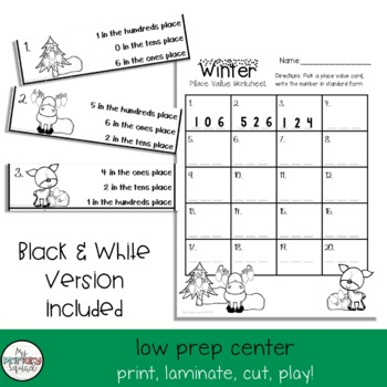 WInter Place Value