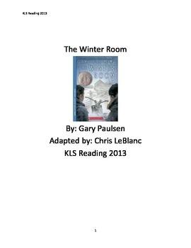 WInter Room - Gary Paulsen - Adapted Book - Summary