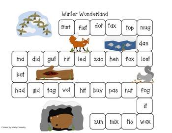 Winter Wonderland Blending Board Game