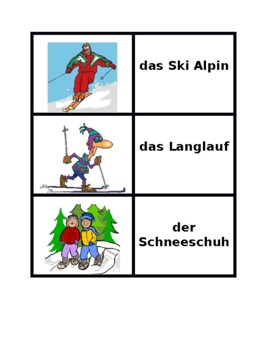 Winter in German Concentration games