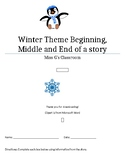 Winter theme Beginning, Middle and End of a Story