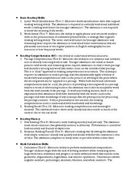 WJ-IV Achievement & Oral Language