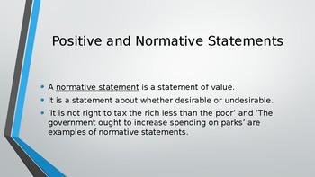 WJEC Eduqas A Level Economics PPTs 34 high quality slides Unit 1 Scarcity Choice