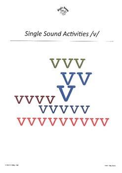 WJQVXYZ Alphabet Sounds /v/