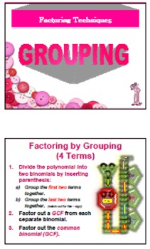 WK *** Factor by Grouping