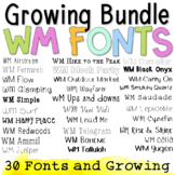 WM Fonts: Growing Bundle