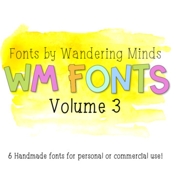 WM Fonts: Volume 3