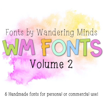 WM Fonts: Volume 2