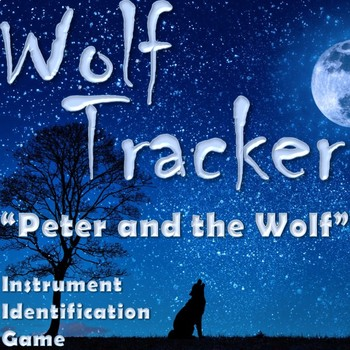 WOLF TRACKER-Peter and the Wolf Instrument Game SmartBoard - Back-to-School BTS