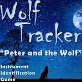WOLF TRACKER Peter and the Wolf Instrument Game - Elementa