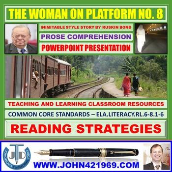 THE WOMAN ON PLATFORM NO 8: PROSE COMPREHENSION LESSON PRESENTATION