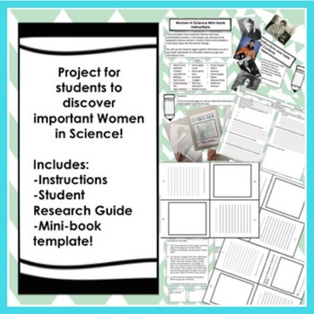 WOMEN IN SCIENCE Mini-Book Research Project!