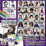 WOMEN'S HISTORY MONTH, COLLABORATIVE POSTER PROJECT AND WRITING PROMPTS