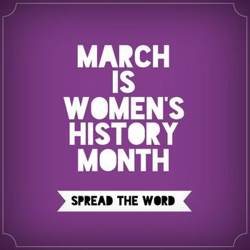 WOMEN'S HISTORY MONTH ELEANOR ROOSEVELT/CLARA BARTON BIO PACKET