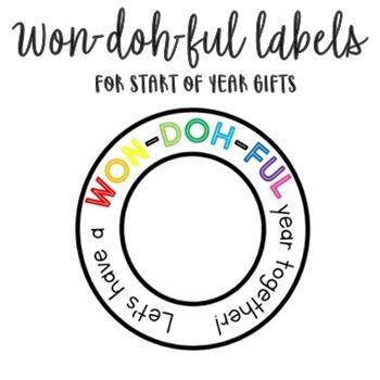 WON-DOH-FUL Labels