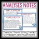 WONDER BY R.J. PALACIO ANALYSIS NOTES