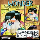 Wonder by R.J. Palacio Novel Study Writing Activity, Poste