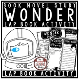 Wonder Novel Study by: R.J. Palacio [Book Review Lapbook-