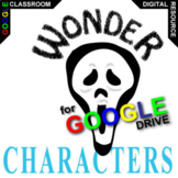 WONDER Characters Organizer (Created for Digital)