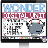 WONDER DIGITAL PAPERLESS UNIT PLAN (USE WITH GOOGLE DRIVE)
