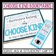 WONDER: FREE CHOOSE KIND BOOKMARKS & POSTER