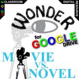 WONDER Movie vs. Novel Comparison (Created for Digital)