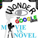 WONDER Movie vs. Novel Comparison (Created for Digital)