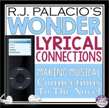 WONDER BY R.J. PALACIO MUSIC ASSIGNMENT