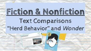 WONDER - Pairing Fiction and NonFiction Texts II Hyperdoc