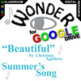 WONDER Beautiful (Created for Digital) Palacio R.J. Novel