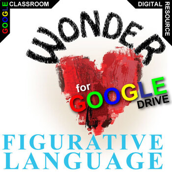 WONDER Palacio R.J. Novel Figurative Language (Created for Digital)