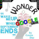 WONDER When September Ends (Digital Distance Learning) Palacio R.J. Novel