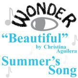 WONDER Palacio R.J. Novel Beautiful Christina Aguliera Analysis