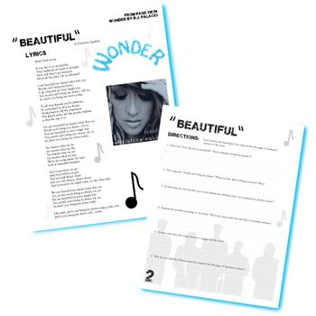 WONDER Beautiful Christina Aguliera Analysis - Palacio R.J. Novel