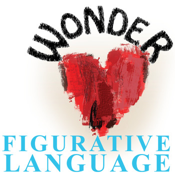 WONDER Palacio R.J. Novel Figurative Language Bundle