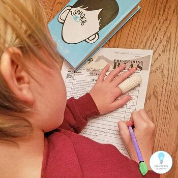 WONDER Palacio R.J. Novel PreReading Bias Activity