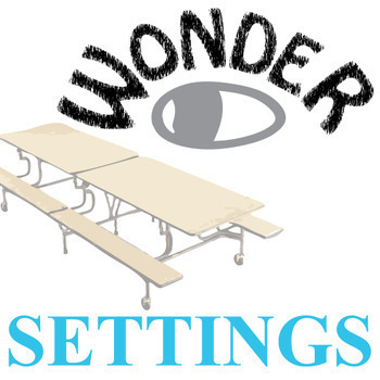 WONDER Palacio R.J. Novel Setting Organizer - Physical & E
