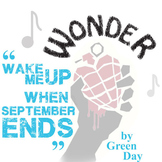 WONDER Palacio R.J. Novel When September Ends Green Day Analysis