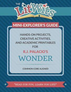WONDER - Reading Activities and Lesson Resources