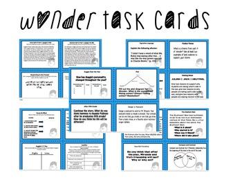 WONDER TASK CARDS