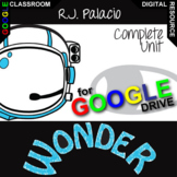 WONDER Digital Unit Plan Anti-Bullying Novel - Literature Guide