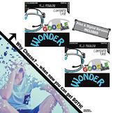 WONDER Unit Plan Novel Study Literature Guide (Print & Digital DISTANCE LEARNING