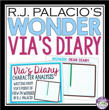 WONDER BY R.J. PALACIO ASSIGNMENT - VIA'S DIARY