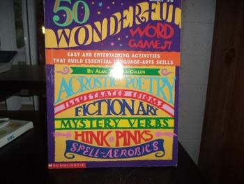 WONDERFUL WORD GAMES  ISBN 0-590-96559-X
