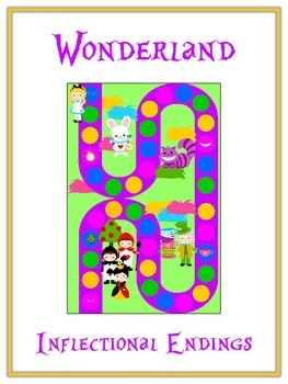 WONDERLAND Inflectional Word Endings - ELA First Grade Gam