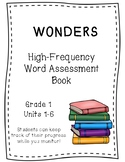 WONDERS 1st Grade HFW Assessment