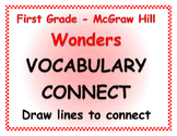 WONDERS 1st Grade VOCAB WORDS by McGraw Hill - Vocabulary CONNECT