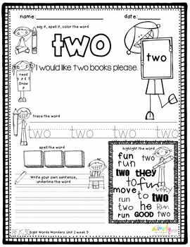 1st grade common core sight word interactive spelling notebook by mrs grauer. Black Bedroom Furniture Sets. Home Design Ideas