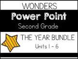 WONDERS 2020 SECOND GRADE THE BUNDLE. Power Points. Units 1-6.