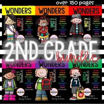 WONDERS 2nd Grade Big Bundle